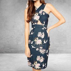 ASOS PETITE Exclusive Cross Front Dress Size 2